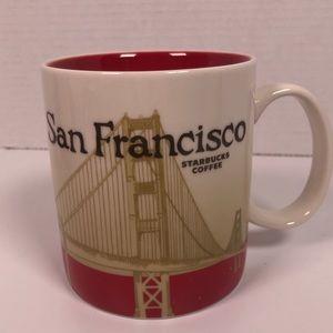 Starbucks San Francisco collectable city mug 16 oz